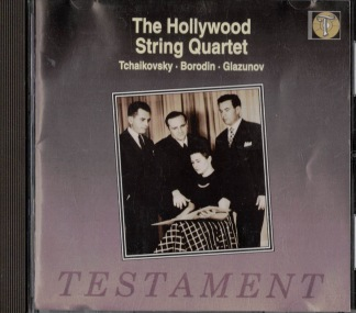 The Hollywood String Quartet -