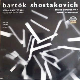 Bartok Shostakovich -