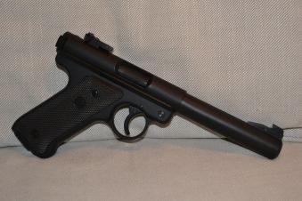 MK1 Pistol (KJW) Ruger Standard Replika Metall Grön Gas Airsoft