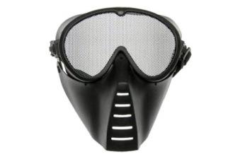 Skyddsmask Ansikte Heltäckande, Nät Svart ASG Skydd