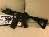 FireHawk FHK M4 Stubby G&G Armament (Elektriskt Maskingevär) Airsoft