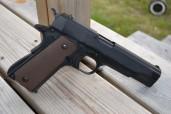 1911 Pistol (KJW) Colt Metall Grön Gas Blowback Pistol Andra Världskriget (KOPIA)