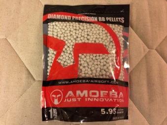 0,25g 4000st Kulor 1kg BIO Ares Amoeba (Diamond Precision) Airsoft Ny