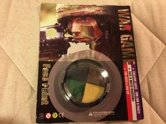 Ansiktsfärg Kamouflage Airsoft/Skytte/Jakt Dosa Svart CCCP