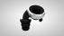 Knops 3D render - Black Silver