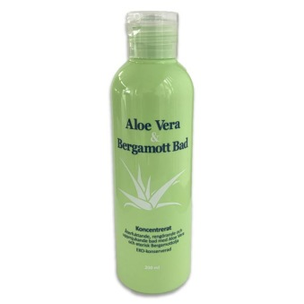 Aloe Vera & Bergamott Bad 200 ml - Aloe Vera & Bergamott Bad 200 ml