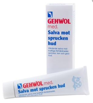 GEHWOL Fußkraft sprucken hud 75ml , cracked skin 125 ml - GEHWOL Fußkraft Sprucken hud 75 ml