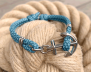 KEY WEST Anchor Bracelet - Summer Sea - Women S/L