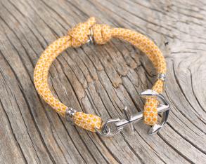 KEY WEST Anchor Bracelet - Summer Sun - Women S/L