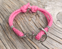 KEY WEST Ankararmband - Summer Rose - Dam S/M