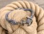 KEY WEST Anchor Bracelet - US Navy & White - Herr M/L