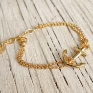 VINGA Ankararmband - Guld