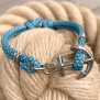 KEY WEST Anchor Bracelet - Summer Sea - Women S/L