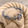 KEY WEST Anchor Bracelet - US Navy & White - M/L