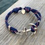 KEY WEST Ankararmband - Tricolor - M/L