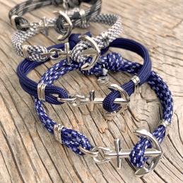 Maina armband, marina smycken, svenska ankararmband från Sverige, ankare