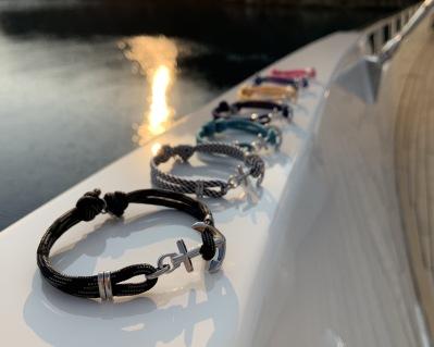 Marint ankararmband från Maris Sal