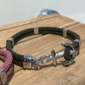 NEW HAVEN Anchorbracelet - Silver