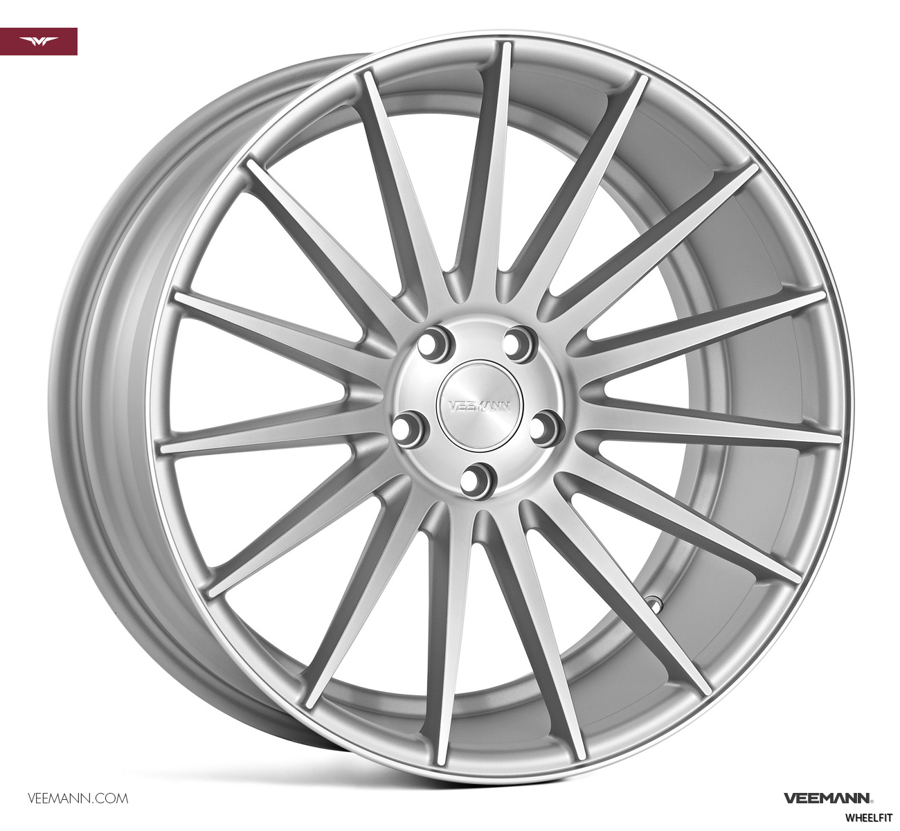 VEEMANN VC7 FULL MATT SILVER MACHINED