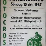 Affisch motcross - Skillingaryd 15 oktober