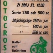 Affisch motcross
