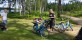 Fikapaus vid Skogshyltesjön
