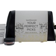 BareMinerals Your Perfect Picks Presentset 15ml Primer + 0.75g Finishing Powder + 25ml Face Serum + Sminkväska
