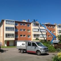Östra Gärdet Falkenberg, HSB Gruebäck