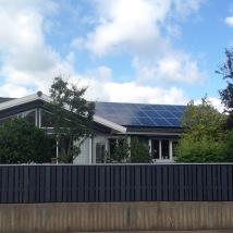 Montering villa Rotorp Halmstad