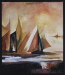 Rune Brink 50 x 62 Triptyk