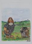 Rune Brink 28 x 34 Akvarell