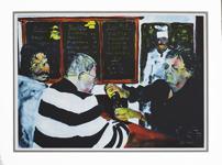 Peter Dahl Stammisar 60 x 45 Litografi