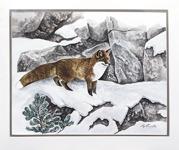 Stig Erinder 65x55 Akvarell orginal