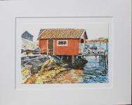 Göran Hahne 30x24 Litografi