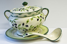 Lena Linderholm keramik Oliver Soppskål