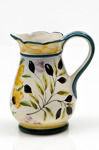 Lena Linderholm keramik Oliver och solros Kanna