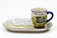 Lena Linderholm keramik Får Träggårdsset