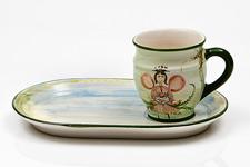 Lena Linderholm keramik Ängel Trädgårdsset