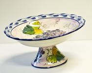 Lena Linderholm keramik Vindruvor Fat på fot