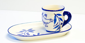 Lena Linderholm keramik Duva Trädgårdsset