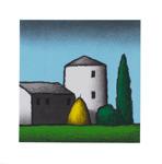 Tino Stefanoni 30x30 litografi