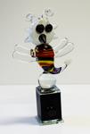 Milan Vobruba Trollslända Höjd: 27 cm Glasskulptur