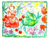 Grodan och Prinsesssan ca 56 x 45