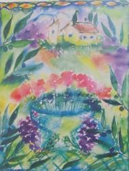 La Provence 50 x 70 / Blad