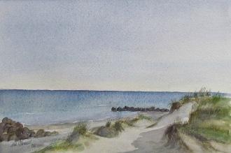 Orginal akvarell 37 x 25