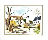 Akvarell 36 x 27