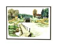 Akvarell 33 x 24