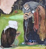 Akvarell 29 x 31