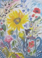 Lena Linderholm, Le Grillon 50 x 70 / Blad