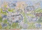 Klockklang i Provence 70 x 50 / Blad